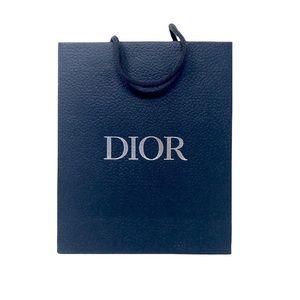 Dior Small Blue Paper Bag